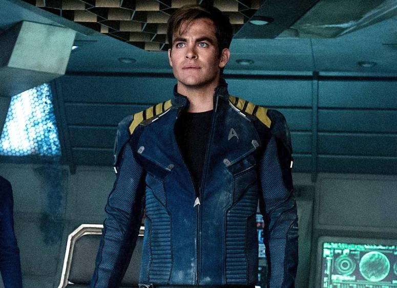 Star Trek Beyond Chris Pine Captain James T Kirk