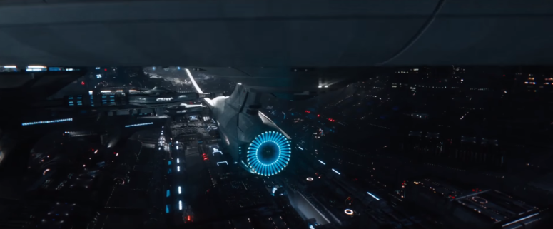 Star Trek Beyond Final Trailer 1 USS Enterprise