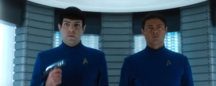 Star Trek Beyond Final Trailer 10 Bones Karl Urban Spock Zachary Quinto Beam Down