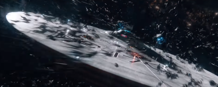 Star Trek Beyond Final Trailer 15 Alien Ship Swarm Enterprise