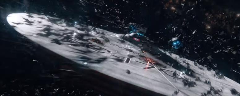 Star Trek Beyond Final Trailer 15 Alien Ship Swarm Enterprise