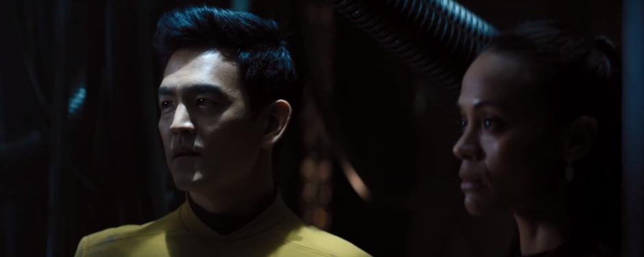Star Trek Beyond Final Trailer 22 Sulu and Uhura