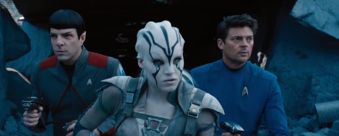 Star Trek Beyond Final Trailer 24 Jeylah Bones and Spock