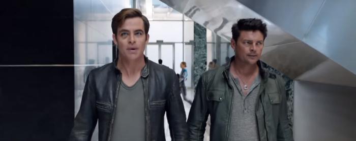 Star Trek Beyond Final Trailer 29 Chris Pine Captain Kirk and Bones Karl Urban