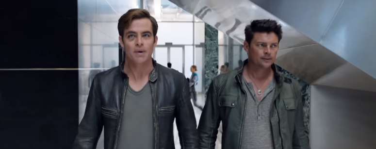 Star Trek Beyond Final Trailer 29 Chris Pine Captain Kirk and Bones Karl Urban
