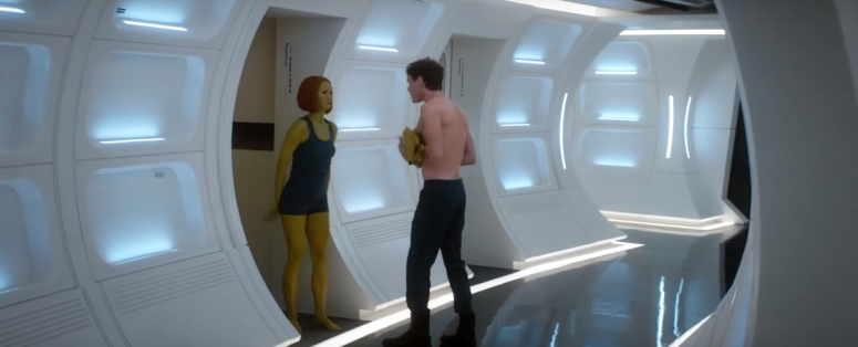 Star Trek Beyond Final Trailer 8 Anton Yelchin Shirtless Chekov