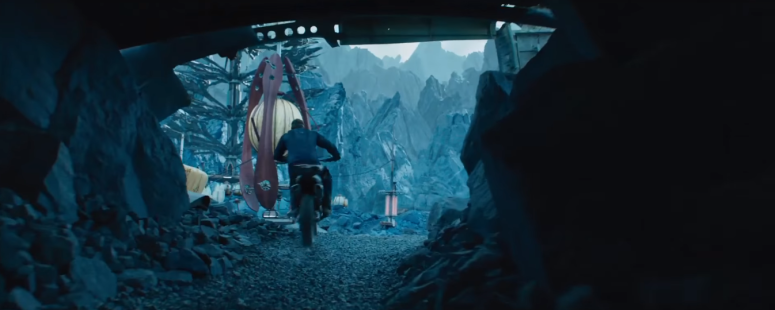 Star Trek Beyond Final Trailer 9 Chris Pine Captain Kirk Motorcycle