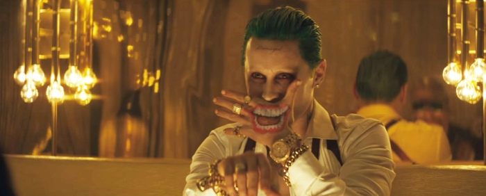 Suicide Squad SDCC 2016 Joker Smile Hand Tatoo