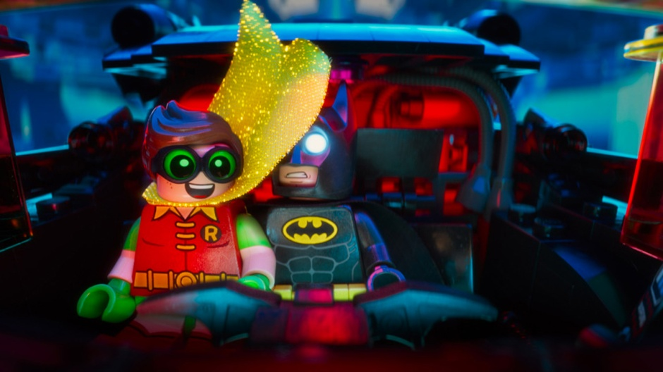 The Lego Batman Movie Trailer Robin Michael Cera Will Arnett Batmobile