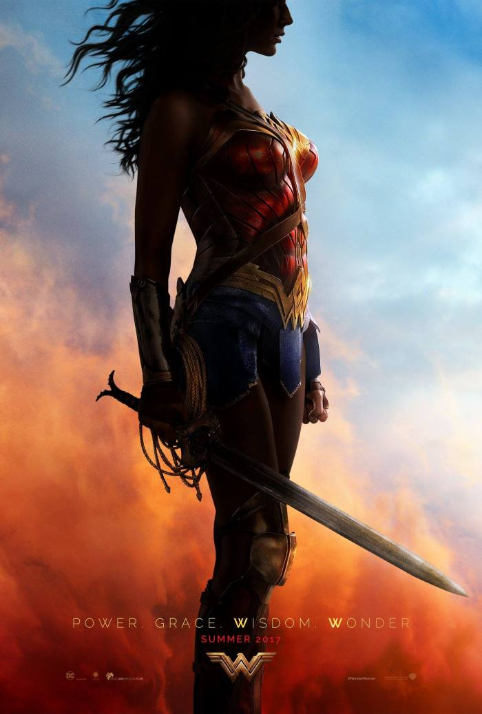 Wonder Woman Teaser Poster SDCC