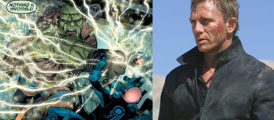 Daniel Craig as Frankenstein Justice League Dark Universe
