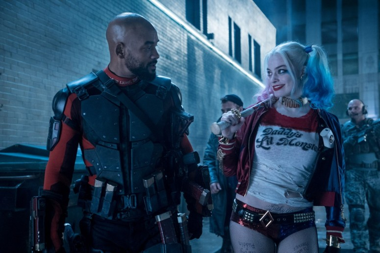 Suicide Squad Review Harley Quinn Margot Robbie and Deadshot Will Smith 2
