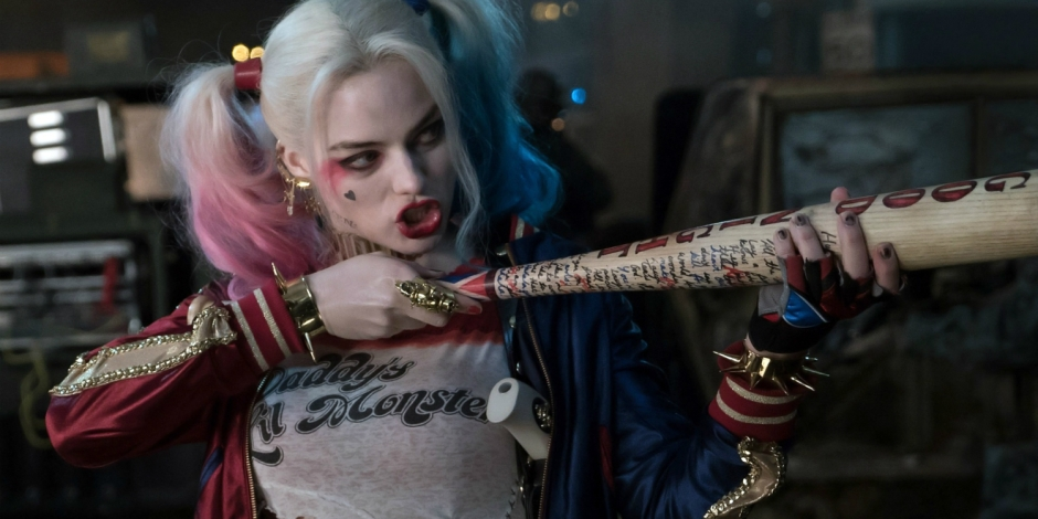 Suicide Squad Review Harley Quinn Margot Robbie Baseball Bat