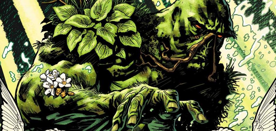 Swamp Thing Justice League Dark New 52