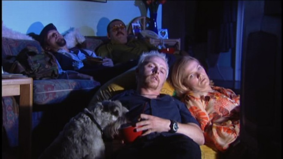Spaced - The Gang Watches Star Wars