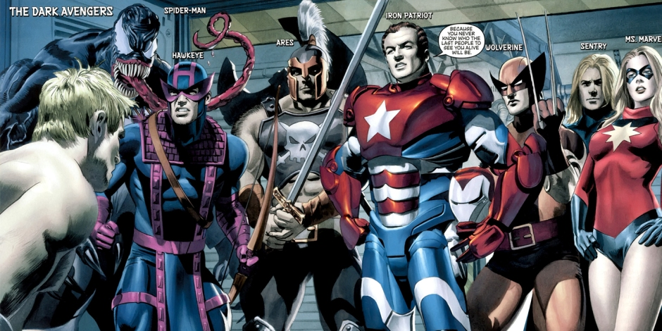 Norman Osborn as Iron Patriot and The Dark Avengers