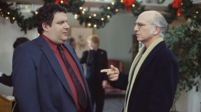 Joseph, Mary and Larry Curb Your Enthusiasm Christmas