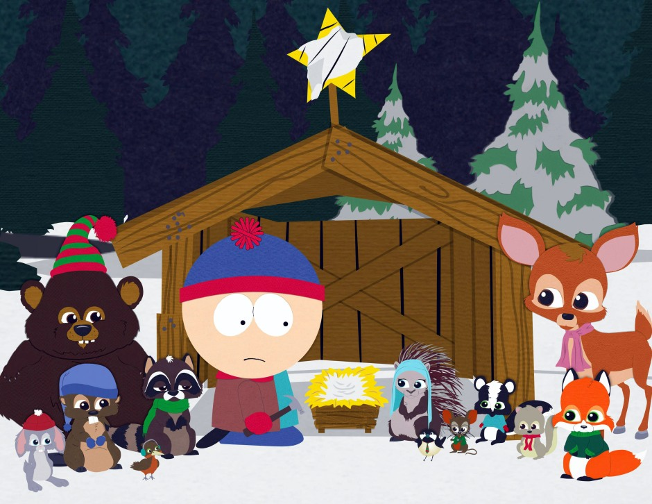 South Park Woodland Critter's Christmas Stan and Animals