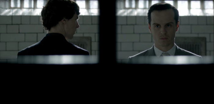 Moriarty and Sherlock Jailed