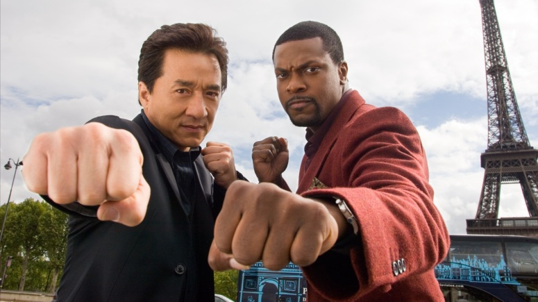 Rush Hour 4? Jackie Chan and Christ Tucker