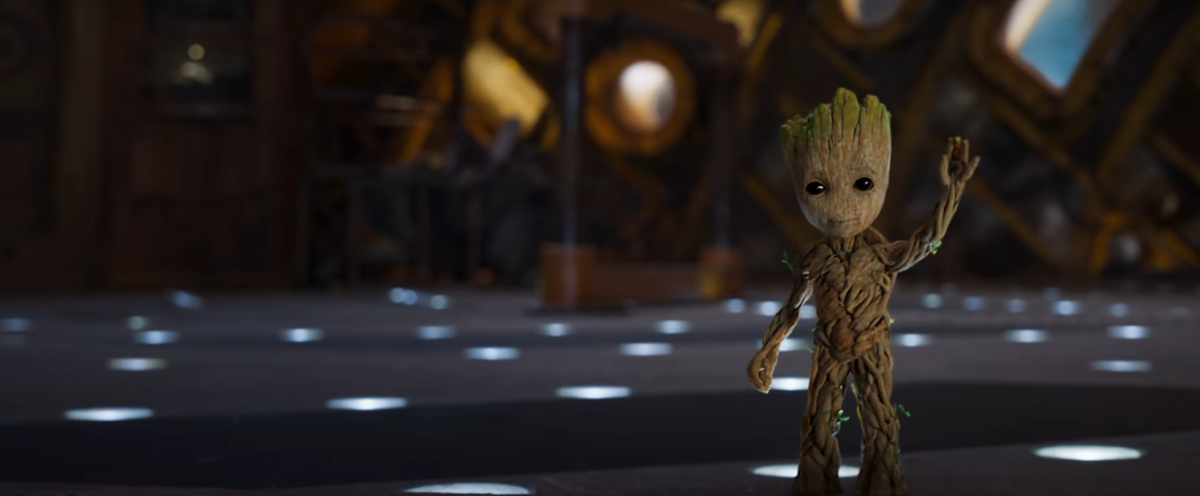 Every Shot of Baby Groot from GUARDIANS OF THE GALAXY VOL. 2 Trailer #2